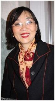 Peiwen Wang est professeur de chinois, présidente de l'association Amitié Chine Montargis et donne des cours d'entretien de la santé qui utilisent des techniques de la médecine chinoise. Lorsque des délégations chinoises sont reçues dans la région, elle est aussi au premier plan. - Montargis AGENCE